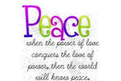 Peace power