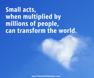 peace small acts